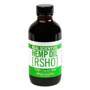 hemp oil green label