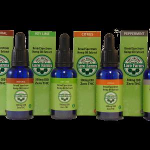 500 mg CBD Tincture 4 pack