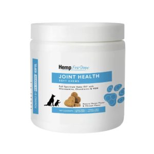 HempForPets CBD dog chews for joint health