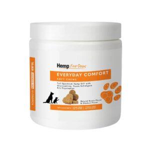 HempForPets Everyday Comfort dog chews