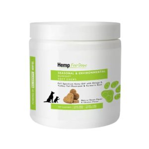 Hemp for Pets CBD allergy chews