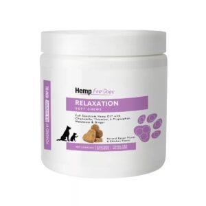 Relaxation CBD dog chews